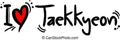 Taekkyeon love