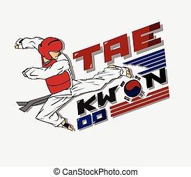 taekwondo, 무술