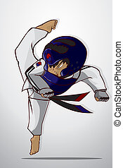 taekwondo, kriegerische kunst
