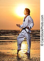 Taekwondo man