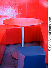 tafel, abstract, rood