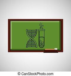 tafel, begriff, bildung, chemie