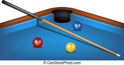 tafel, billiard