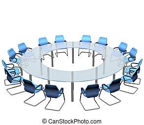 tafel, conferentie