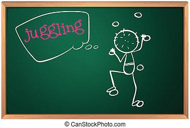 Tafel wischen clipart  Junge, tafel. School.child, blackboard., zurück,... Vektor ...