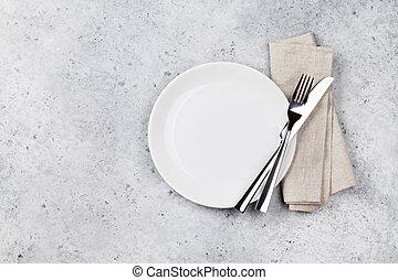 tafel te zetten
