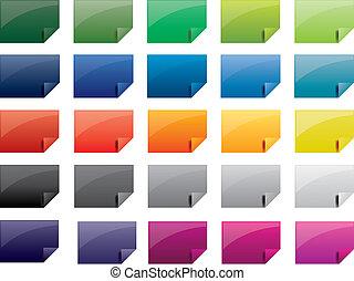 tag, colorido