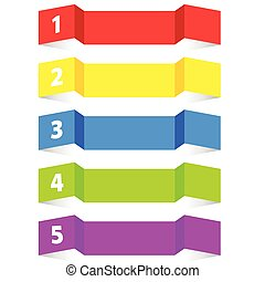 tag label color vector illustration