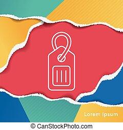 tag line icon