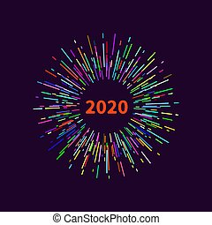 tag new 2020, vector