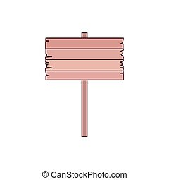 tag of wood isolated icon vector illustration