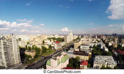 Tagansky district - Aerial panorama of the tagansky district...