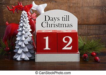 tage, kassa, weihnachten, calendar.