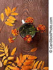 Tagetes flowers