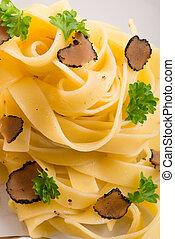 tagliatelle with summer truffle