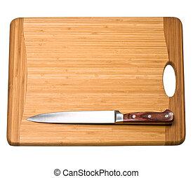 tagliere, coltello, cucina