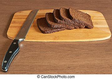 taglio, bread, composizione