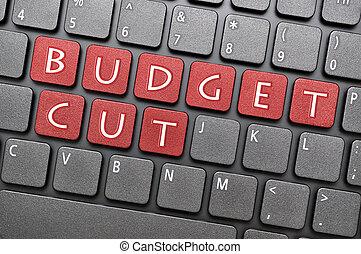 taglio, budget, tastiera