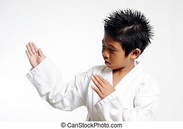 taglio netto karate