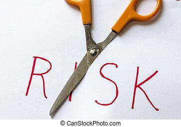 taglio, rischio