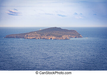 Tagomago private island next to Ibiza.