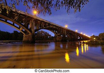 Gervais Street Bridge in Columbia, South Carolina