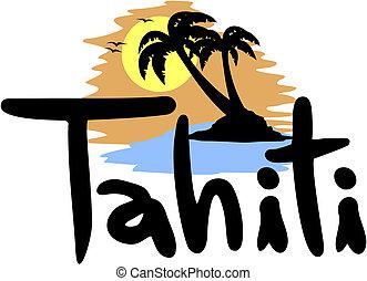 Tahiti beach - Creative design of tahiti beach