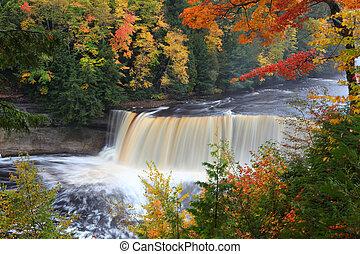 Tahquamenon Falls State Park Paradise Upper Peninsula...