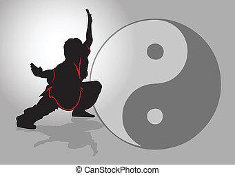 tai-chi., 中国語