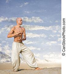 Tai Chi Martial Art Background
