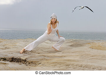 Tai chi movements are low impact exercises based on martial...