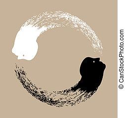 taichi, yin yang