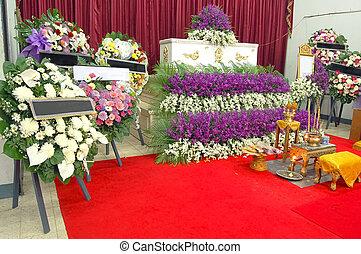 tailandés, funeral