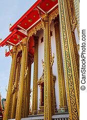 tailandia, arte, tempio