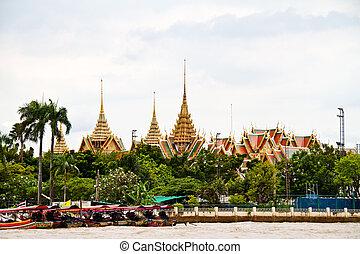 tailandia, bangkok, palazzo, grande