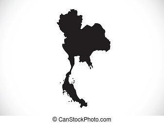 tailandia, mapa