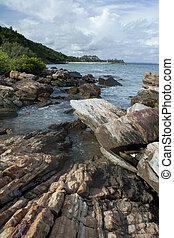tailandia, mare, pietre