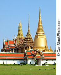 tailandia, palazzo, grande