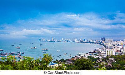 tailandia, pattaya, golfo