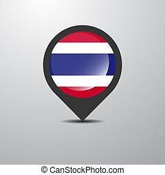 tailandia, perno, mappa