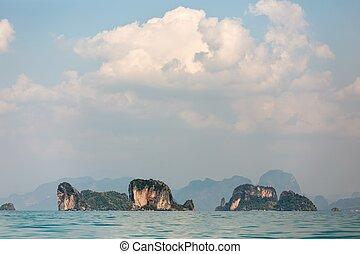 tailandia, phang, nga, baia