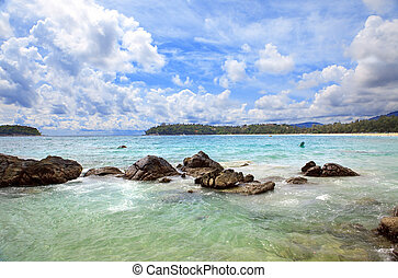 tailandia, playa, kata, phuket