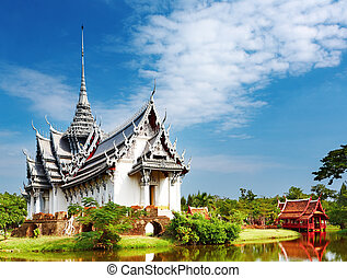 tailandia, prasat, palazzo, sanphet