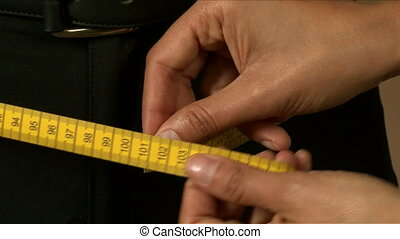 Tailor Hips Measuring 02 - Tailor measuring different parts ...