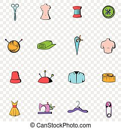 Tailor set icons