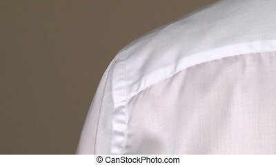 Tailor Width of Shoulders Body Measuring