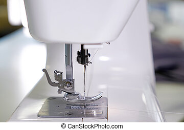 needle in sewing machine