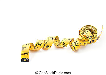 Tailor\\\'s Measuring Tape - A tailor\\\'s measuring tape...