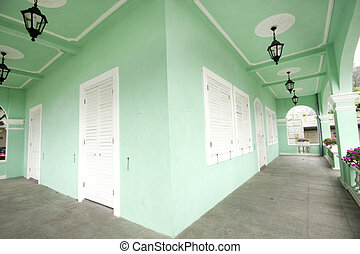 taipa, casas, museo, es, un, marca famosa, en, macao