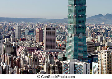 Taipei 101 - Picture that truly shows how big this building...